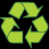 Recycling environmental Logo