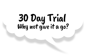 Speech Bubble 30 day Trial