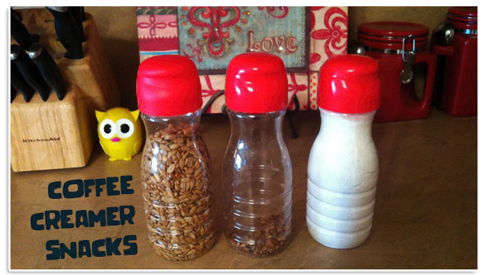 Plastic bottle nuts and flour holders containers